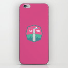 NEW YORK (I LOVE USA SERIE) iPhone Skin