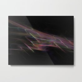 Oil Slick Metal Print