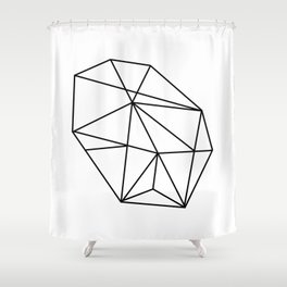 Rock Shower Curtain