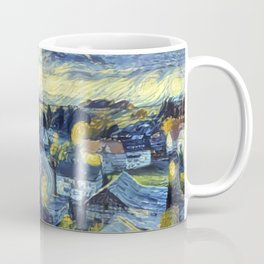 "Gogh's by The Bürg Atelier Collection - ""The Little Village"" Coffee Mug"