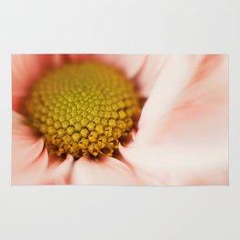 pink daisy Rug