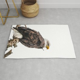 January Bald Eagle Rug