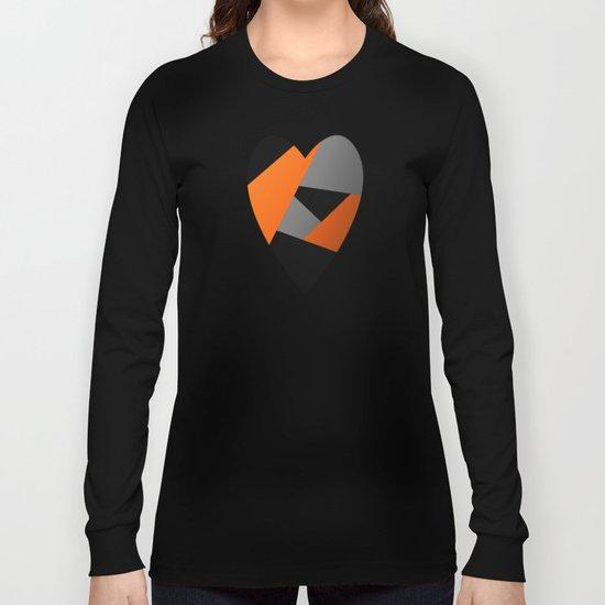 Metal Heart Long Sleeve T-shirt