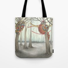 In the Quilted Forest I  Tote Bag