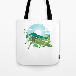 Insects Entomology Wildlife Animals Little Fly Grasshopper Gift Tote Bag