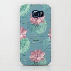 LOTUS FLOWERS Slim Case Galaxy S6