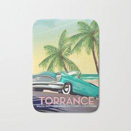 Torrance, California Bath Mat