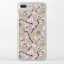 Japanese Spring Clear iPhone Case