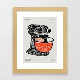 KITCHENAID FACTORY TOUR Framed Art Print