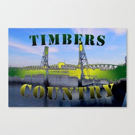 Timbers Country Canvas Print