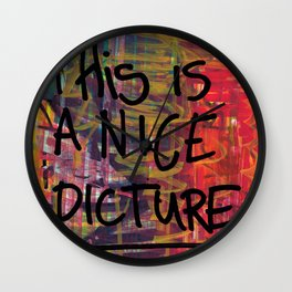 Nice Picture Wall Clock