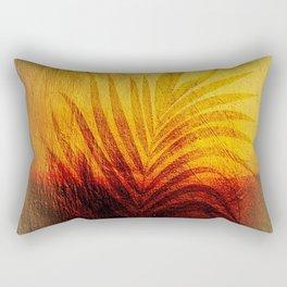 background wallpaper leaf palm Rectangular Pillow