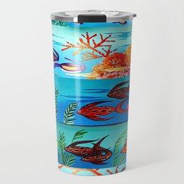 Beautiful Sea Life Travel Mug