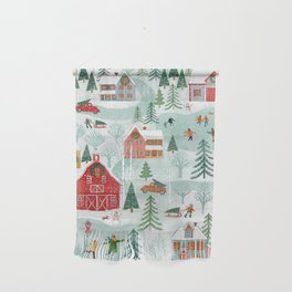 New England Christmas Wall Hanging