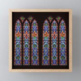 Mary's Mountain Windows Framed Mini Art Print