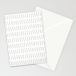Ticks in a Row Stationery Cards