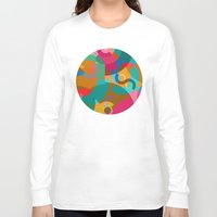 picasso Long Sleeve T-shirts featuring Pattern Picasso by Tony Vazquez