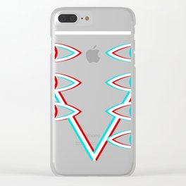 Evangelion Lilith eyes Clear iPhone Case