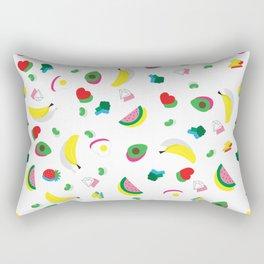 White Rectangular Pillow