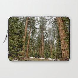 Sequoias in the Fog Laptop Sleeve