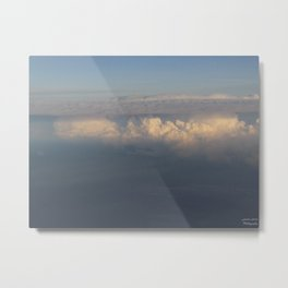Sunlight Dancing on the Clouds Metal Print