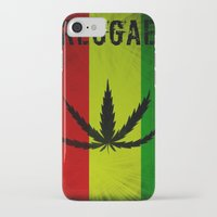 reggae iPhone & iPod Cases featuring REGGAE by shannon's art space