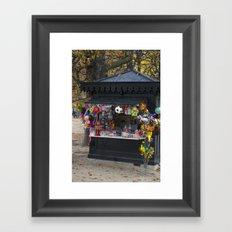 wanna buy? Framed Art Print