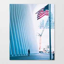 Memorial Day at Westfield World Trade Center Canvas Print