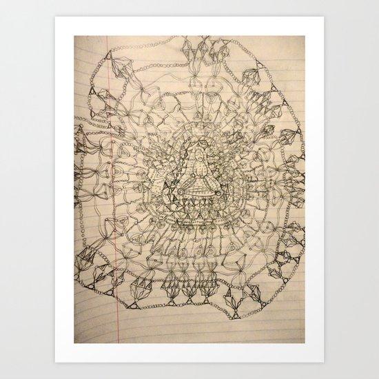 Namaste~ Art Print