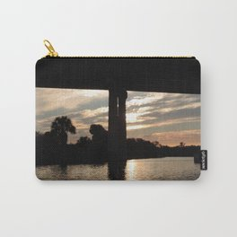sunset over the Okeechobee waterway Carry-All Pouch