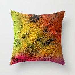 Spray Paint  Throw Pillow