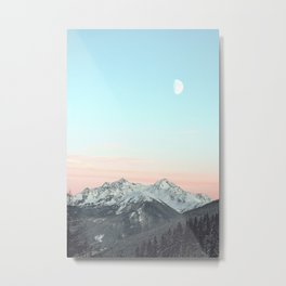 Mountains Landscape Metal Print