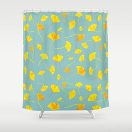 Ginkgo Collection Shower Curtain