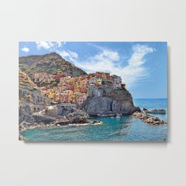 Colorful Italy Metal Print
