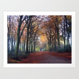 Delicious Autumn... Art Print