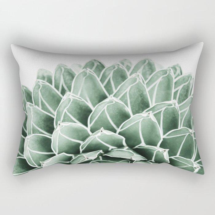 Succulent splendour Rectangular Pillow