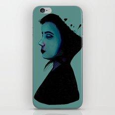 Night Girl iPhone & iPod Skin