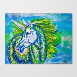 A Unicorn Named Aurora Canvas Print