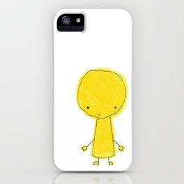 yellow dood iPhone Case