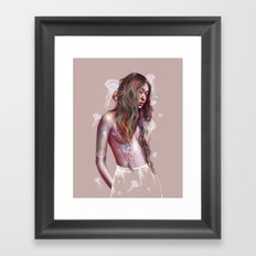 My Pulse Framed Art Print