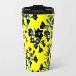 Watsonia Print Travel Mug