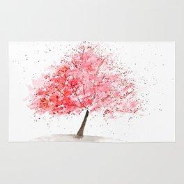 Kwanzan Cherry Tree Rug