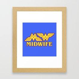 MidWife (Comic Version) Framed Art Print