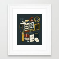 221b Framed Art Prints featuring 221B by Nina Martinez