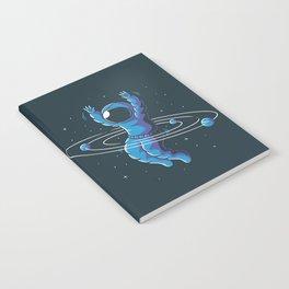 Space Hula Hoop Notebook