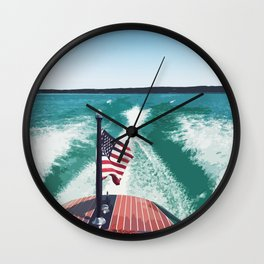 Chris Craft Boating Wall Clock