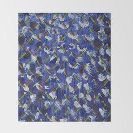 Love Birds II Throw Blanket