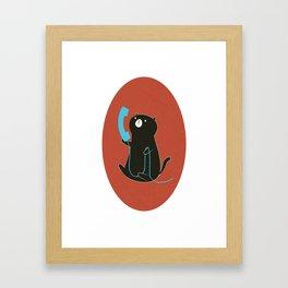 Cat Call Framed Art Print