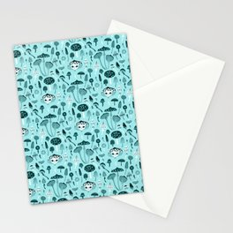 Mad Tea Party III - Mushrooms Stationery Cards