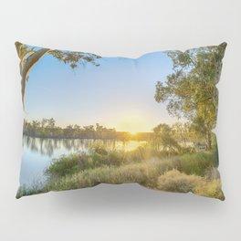 River Sunrise Pillow Sham